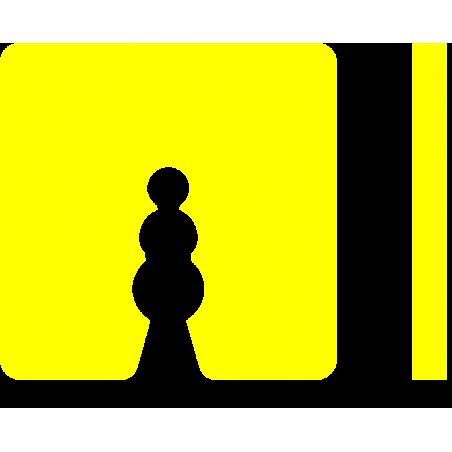 Uitvulplaatjes 5 mm geel (50)