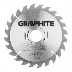 160-30 24T Hout Cirkelzaagblad Graphite
