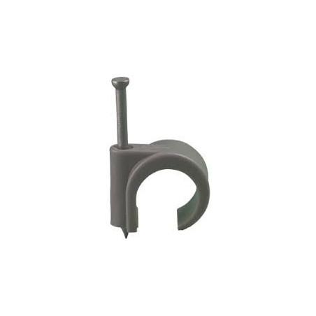 16-19 mm Spijkerclip Grijs (100)