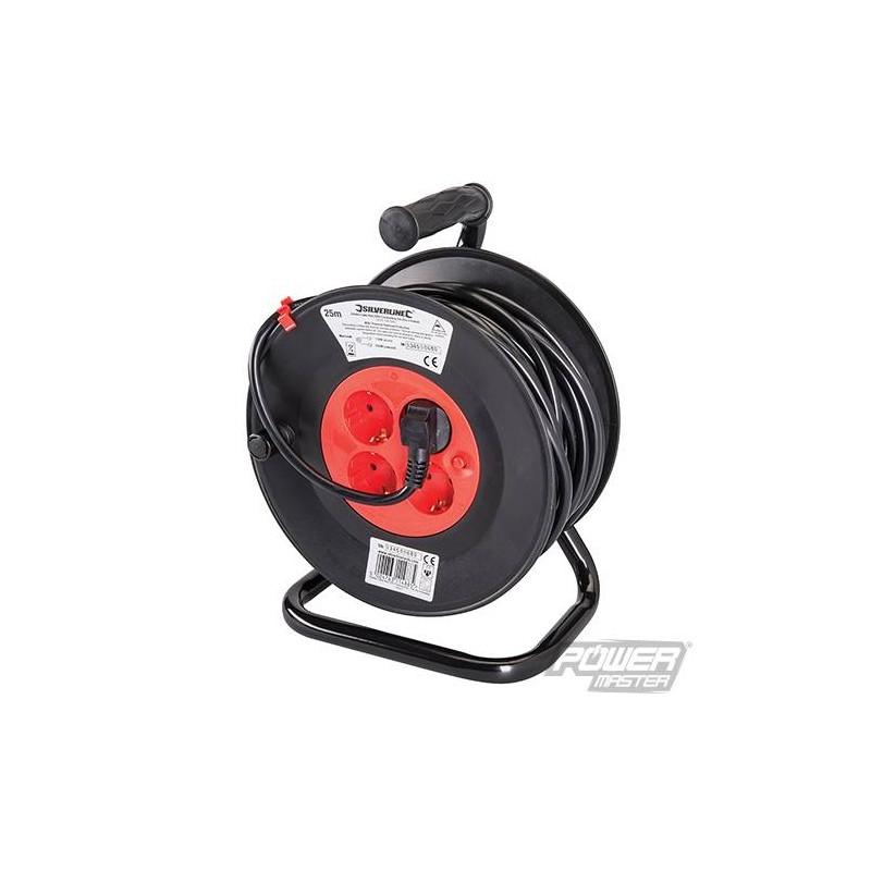 Kabelhaspel 230 V  25 Meter